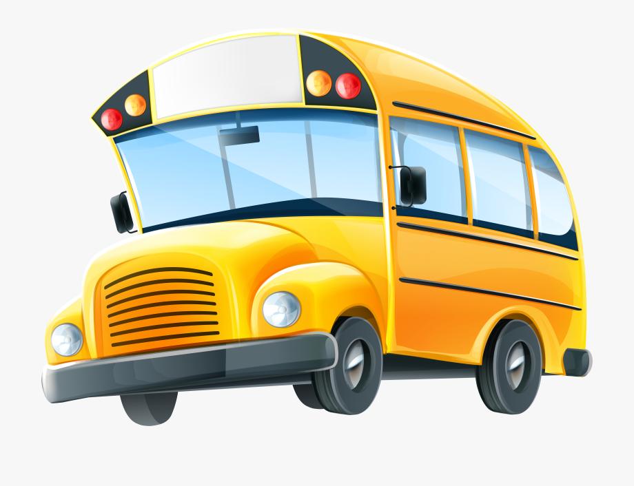 Clipart Bus Schol.