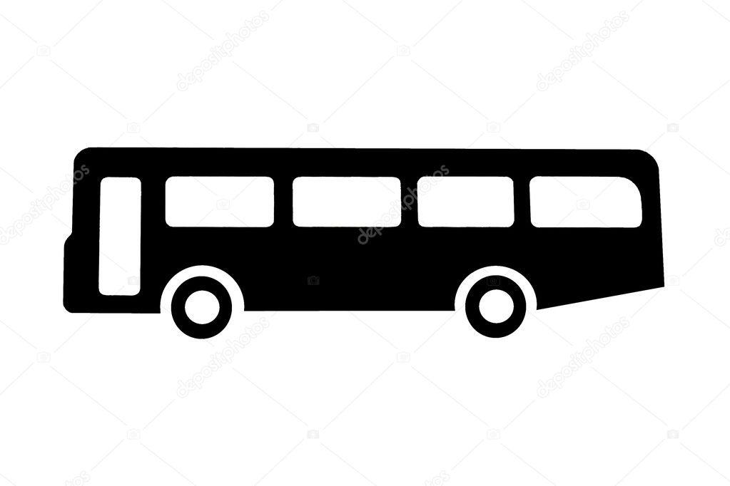 Bus or coach sign — Stock Photo © Naturaldigital #2423211.