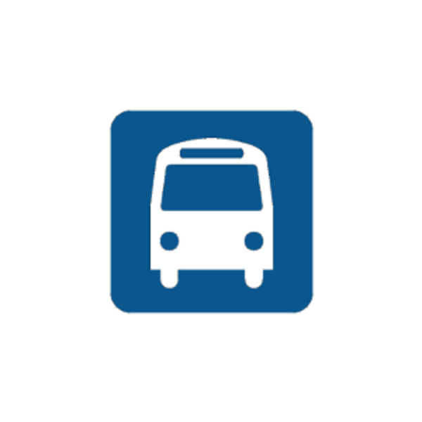 Bus Stop Icon #366669.