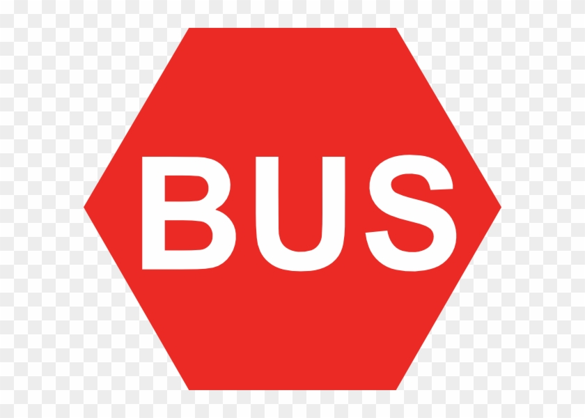 School Bus Stop Sign Clipart, HD Png Download.