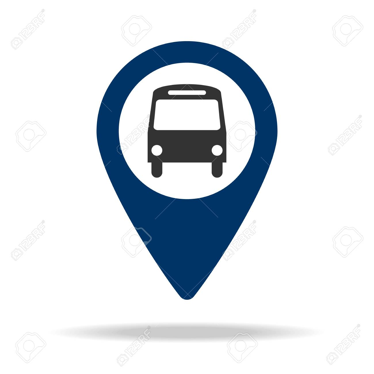 Bus Schedule And Map Clipart & Free Clip Art Images #24247.