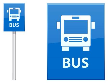10,887 Bus Stop Sign Stock Vector Illustration And Royalty Free Bus.