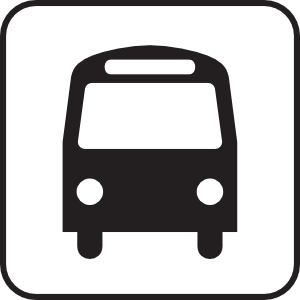 Bus clipart sign, Bus sign Transparent FREE for download on.