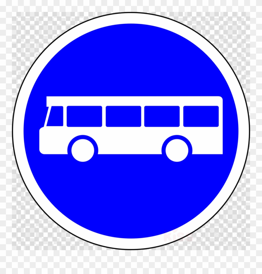 Bus Road Sign Clipart Bus Traffic Sign Stop Sign.