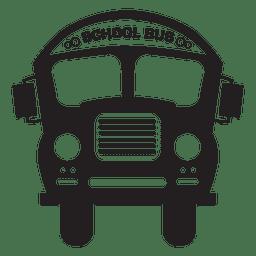 Bus school bus silhouette.