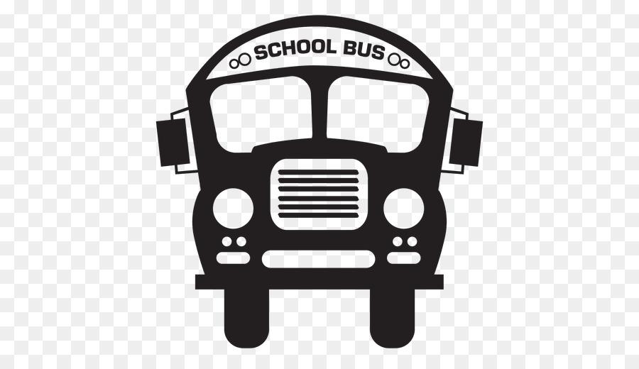 School Bus Silhouette clipart.