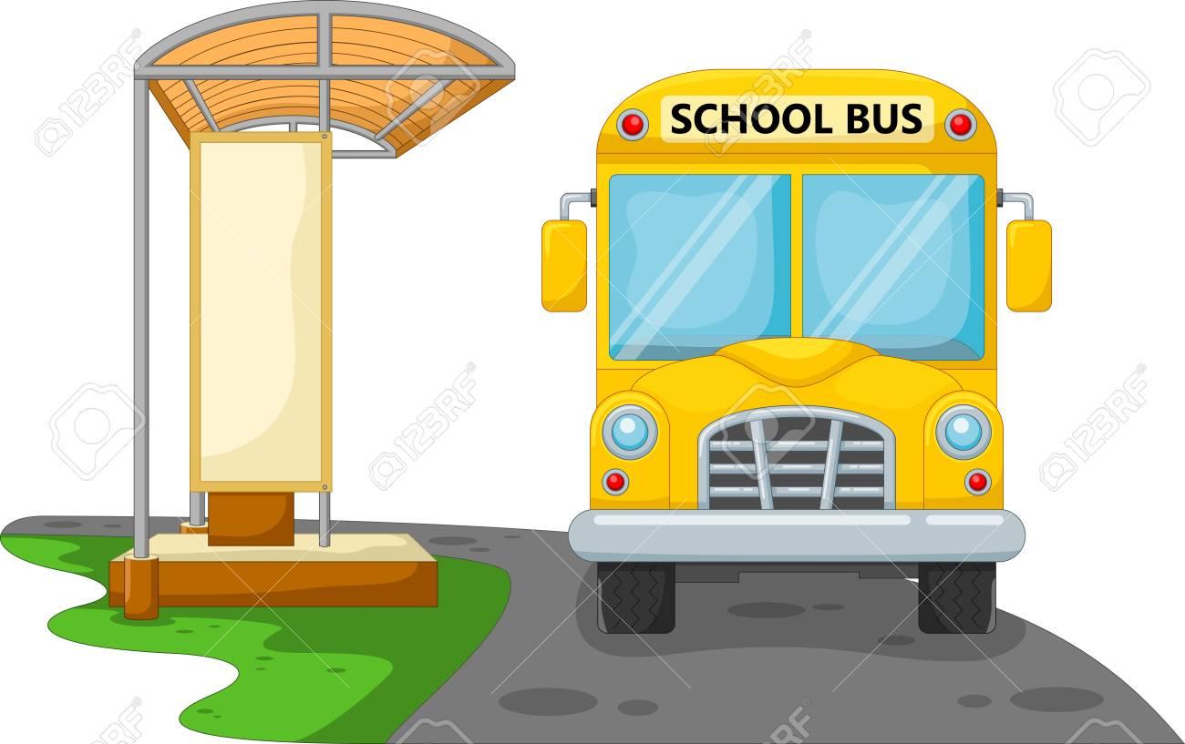 School bus stop clipart 2 » Clipart Station.