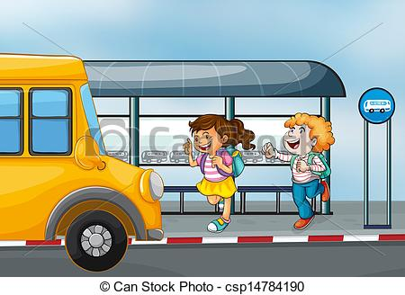 Bus station Vector Clipart EPS Images. 2,750 Bus station clip art.