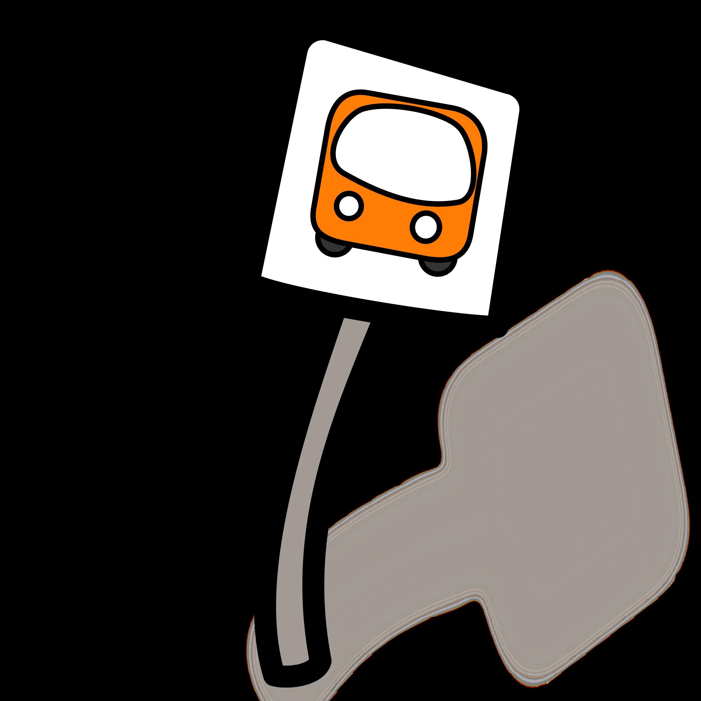 Bus Stop Clip Art.