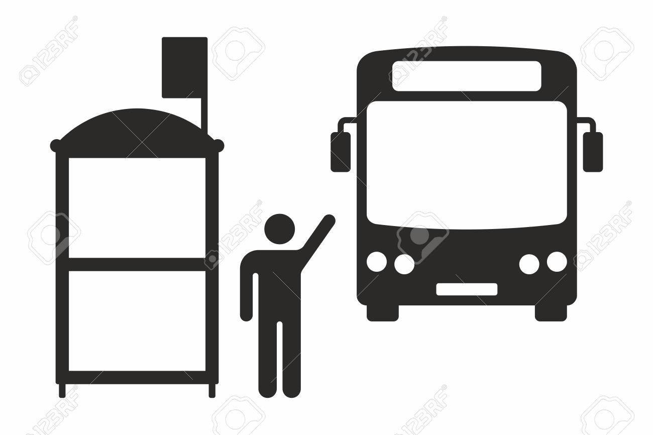 Bus station clipart black and white 1 » Clipart Portal.