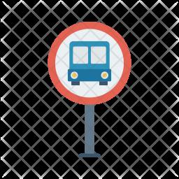 Bus stop Icon.