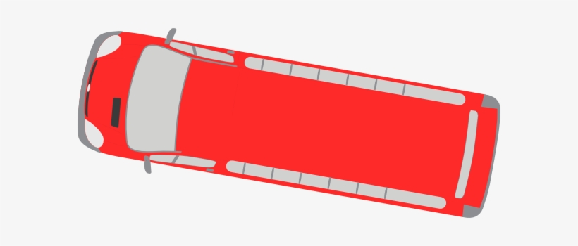 Bus Clipart Top View.
