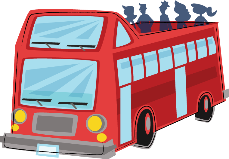 Tour bus clipart 1 » Clipart Station.