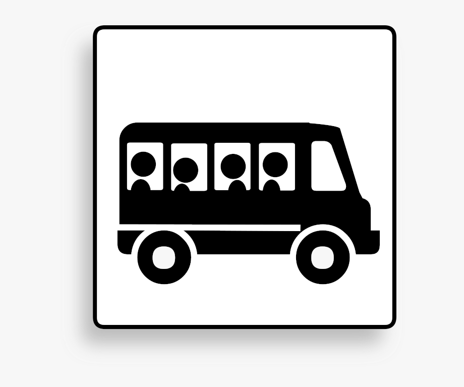 Bus Transportation Vehicle Motion Clipart.