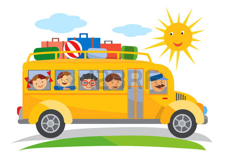 1,204 Traveling By Bus Cliparts, Stock Vector And Royalty Free.