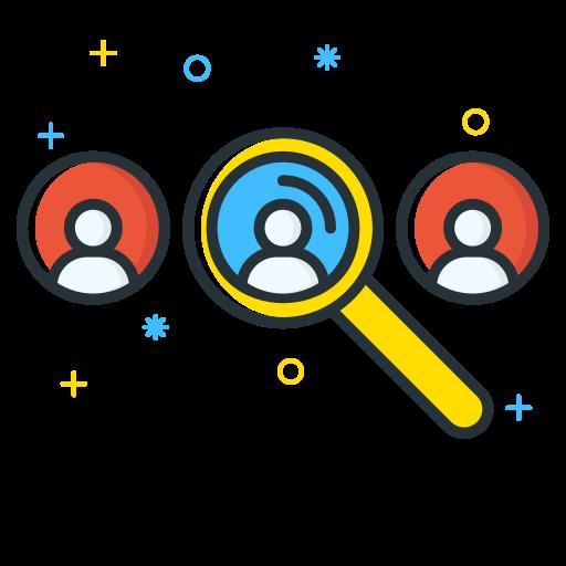 Icono Encontrar, localizar, buscar, personas, usuario Gratis de Free.