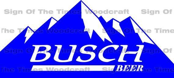 Busch light logo vector svg.