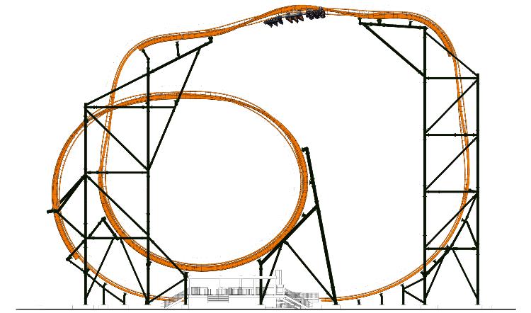 Tigris coaster opening at Busch Gardens in 2019.