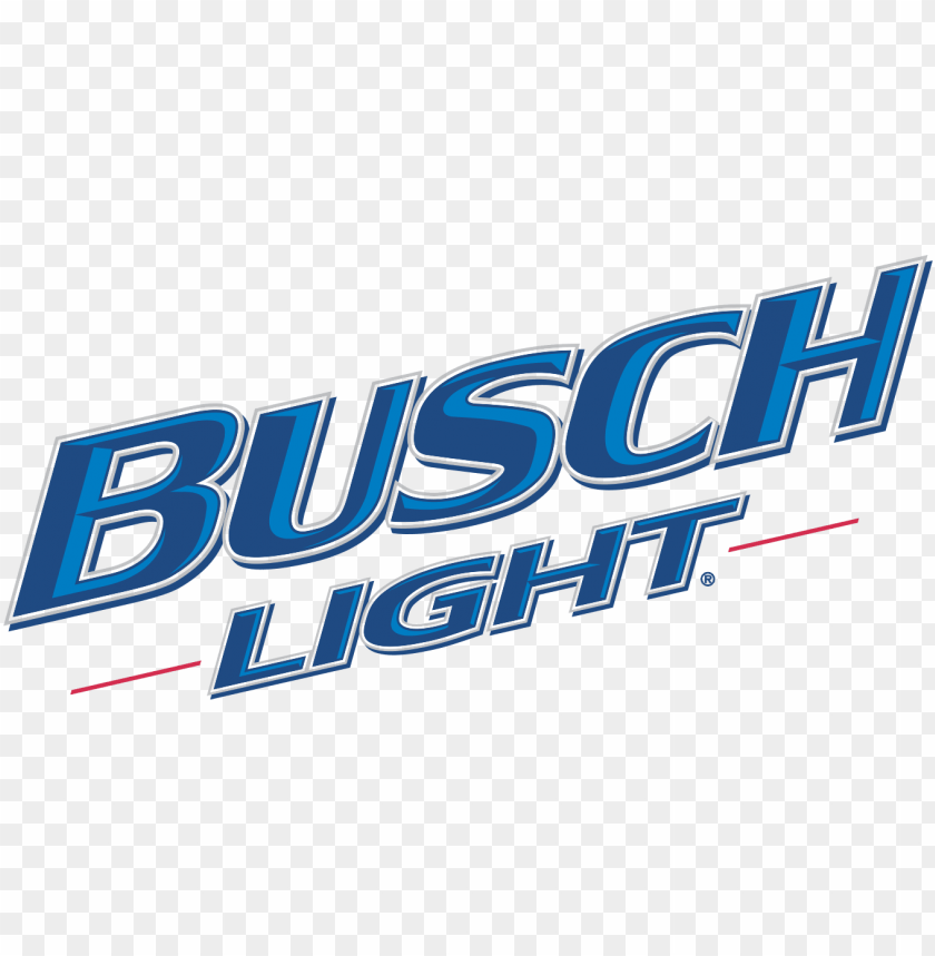 busch light beer logo PNG image with transparent background.