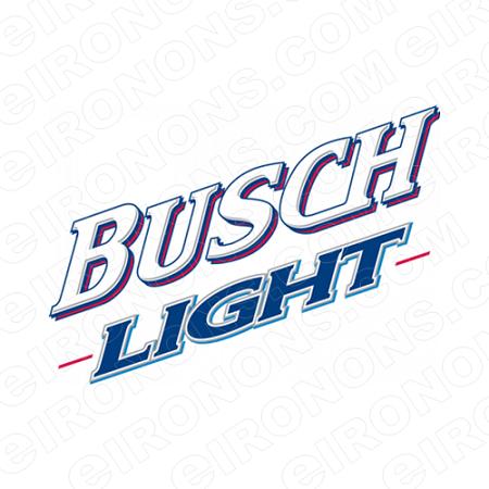 BUSCH LIGHT LOGO 1 ALCOHOL T.