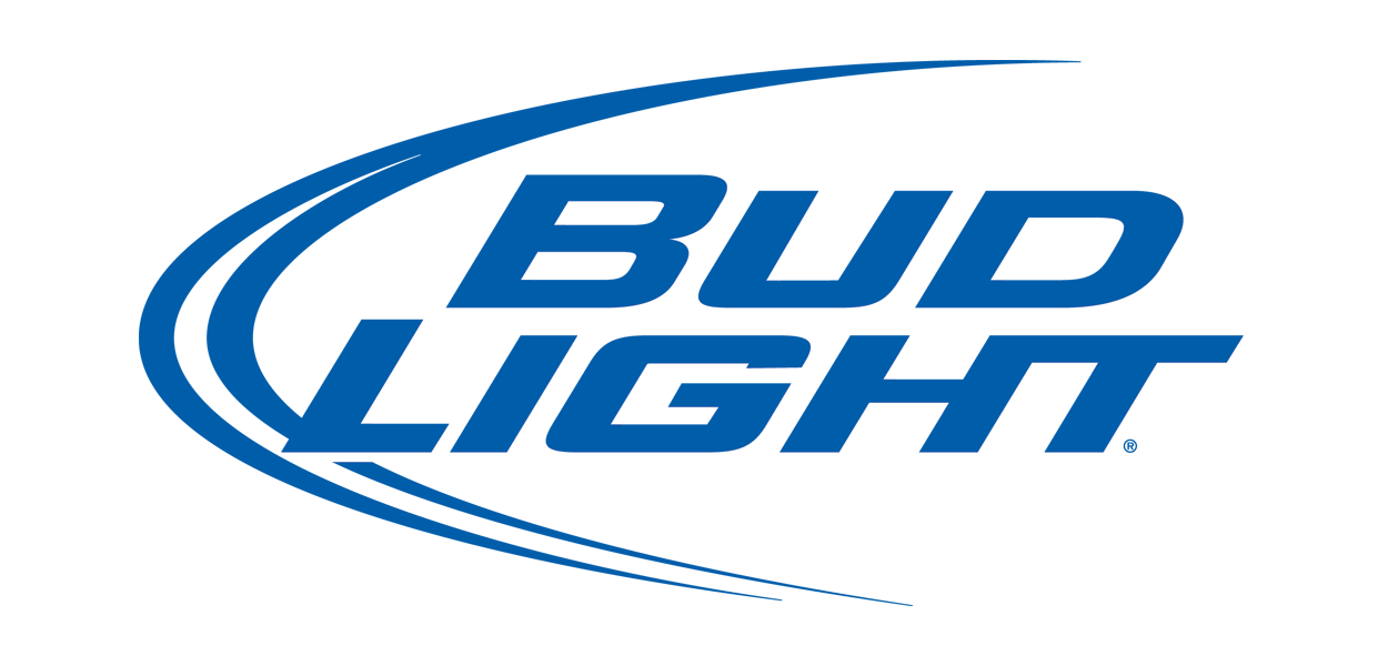 Meaning Bud Light logo and symbol.