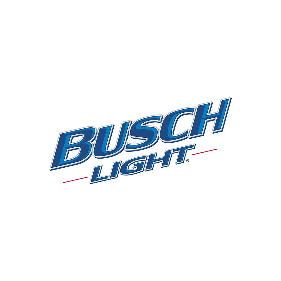 Sticker Busch Light Logo.
