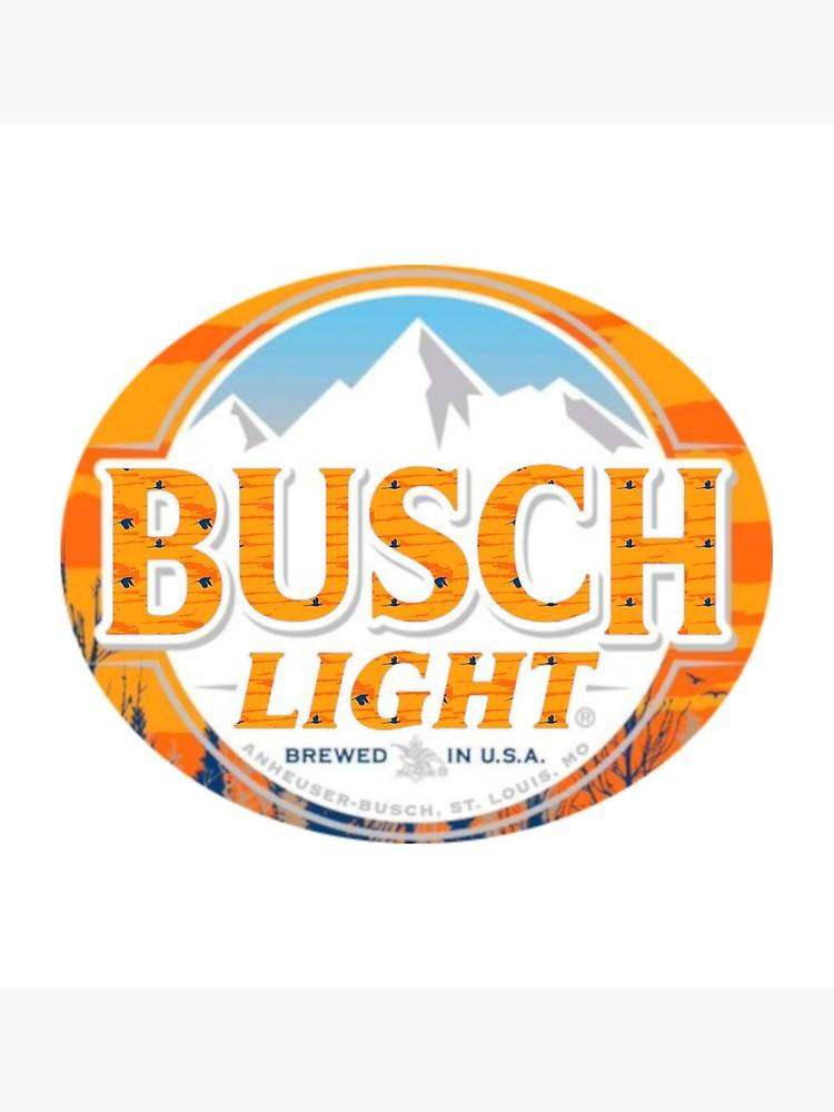 Busch Light Orange Logo Fall Limited Edition.