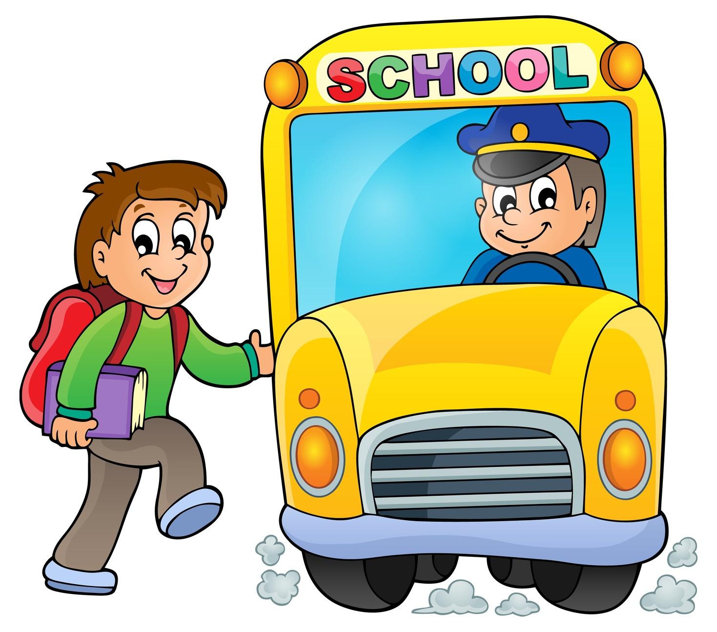 Bus driver clipart images.