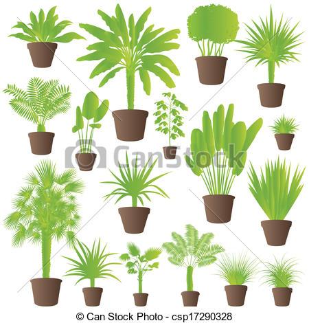 Palm grass clipart #5
