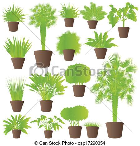 Palm grass clipart #4