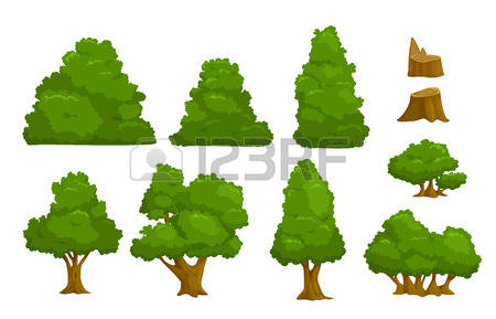 48,518 Bush Stock Illustrations, Cliparts And Royalty Free Bush.