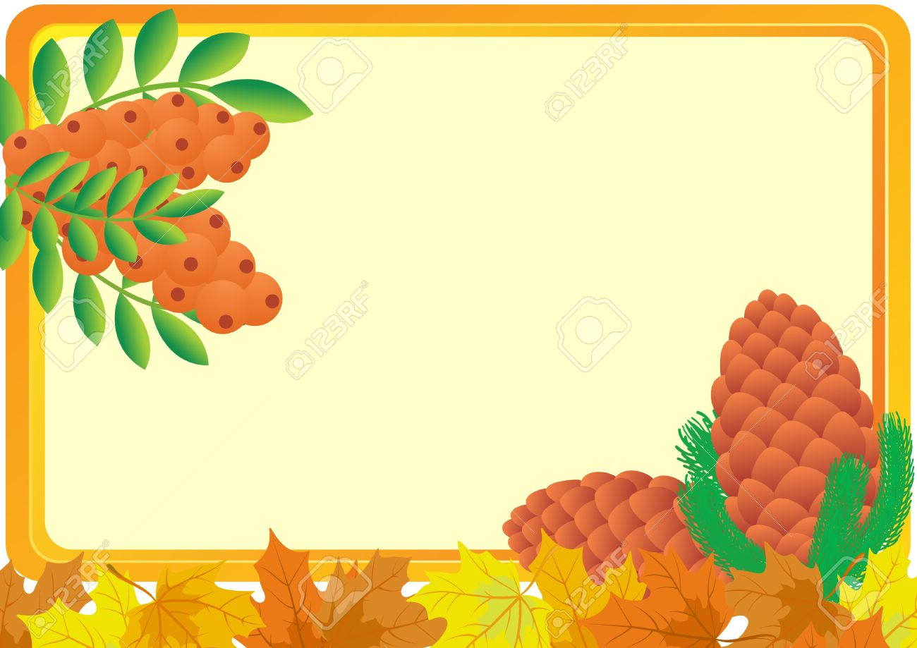 A Business Card With A Yellow Background, With Bush Fruits Of.