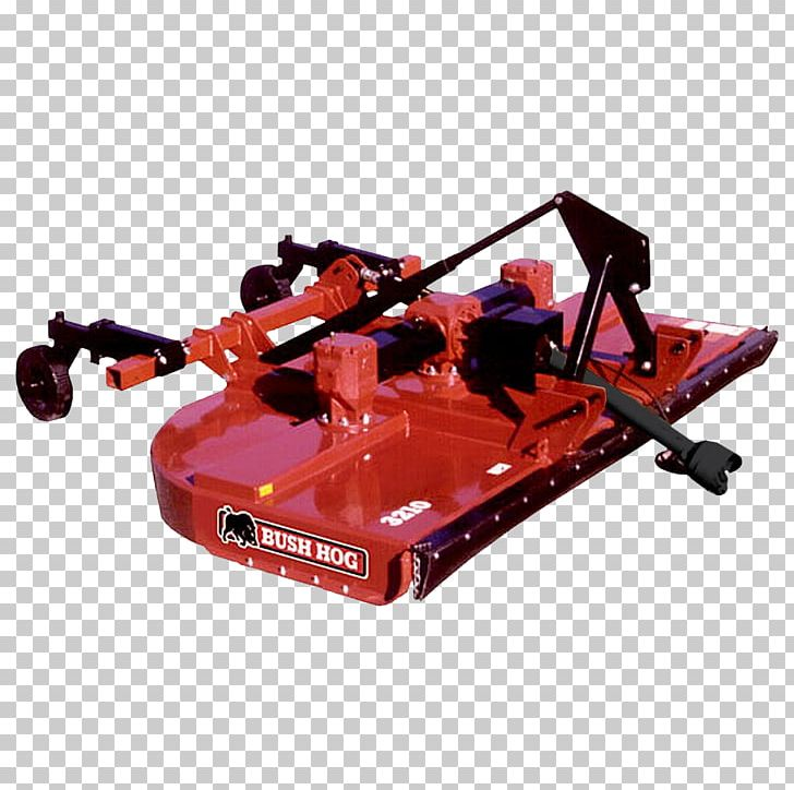 Brush Hog Rotary Mower Tractor Agricultural Machinery PNG.