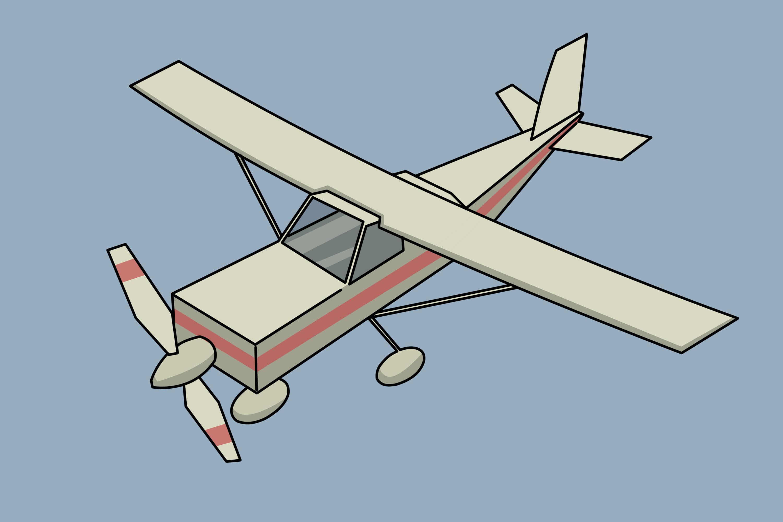 4 Ways to Draw a Plane.