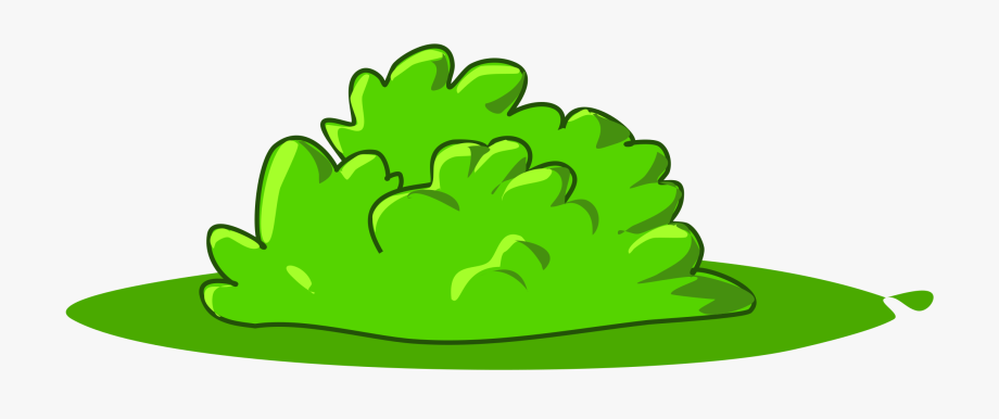 Jungle Clipart Bush.