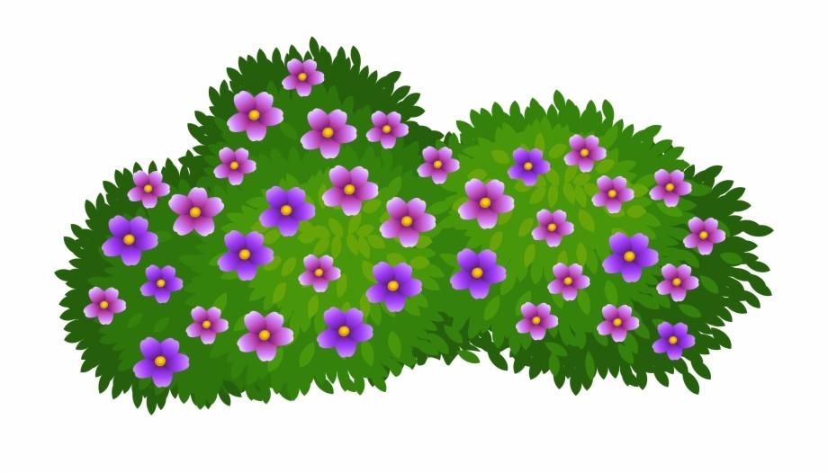 Free Flower Bush Png, Download Free Clip Art, Free Clip Art.