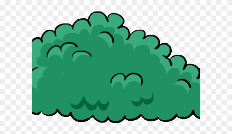 Cartoon Bush Png Clipart (#449392).
