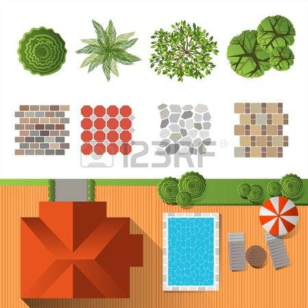 328 Bush Top View Stock Vector Illustration And Royalty Free Bush.