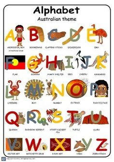 Teaching resources that have an Indigenous Australian theme.