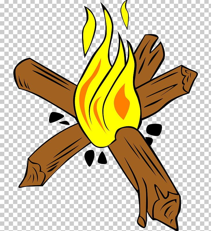 Campfire Camping Bonfire PNG, Clipart, Art, Artwork, Beak.
