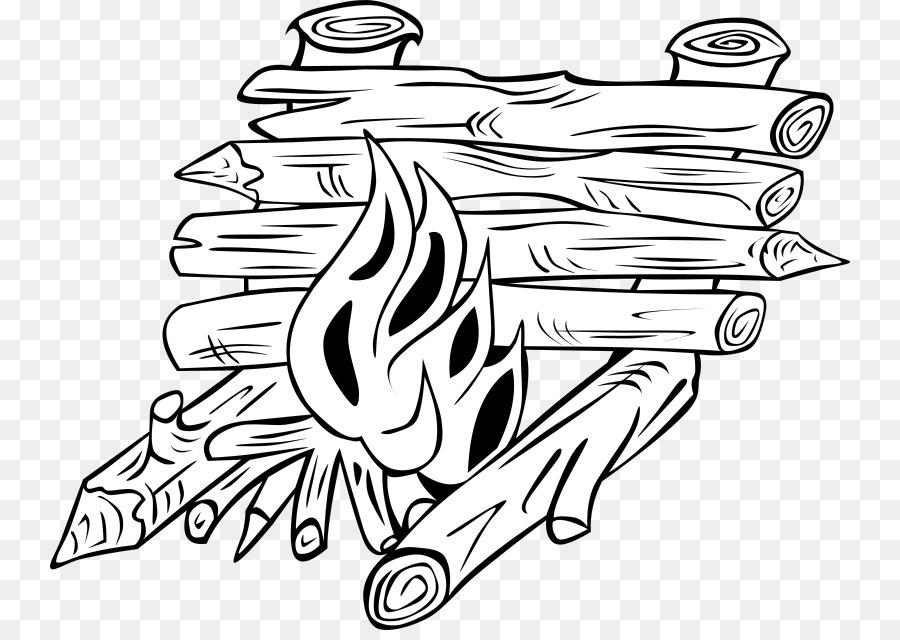 Campfire Design clipart.