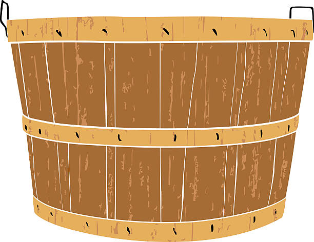 Best Bushel Basket Illustrations, Royalty.