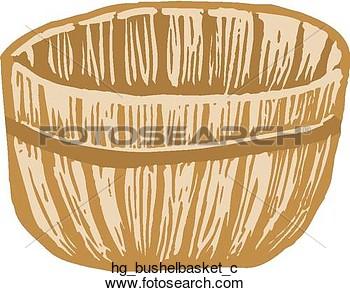 Bushel Basket With Cover Clip Art At Clker Com Vector Clip Art.