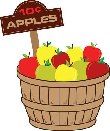 83 Bushel Of Apples Cliparts, Stock Vector And Royalty Free Bushel.