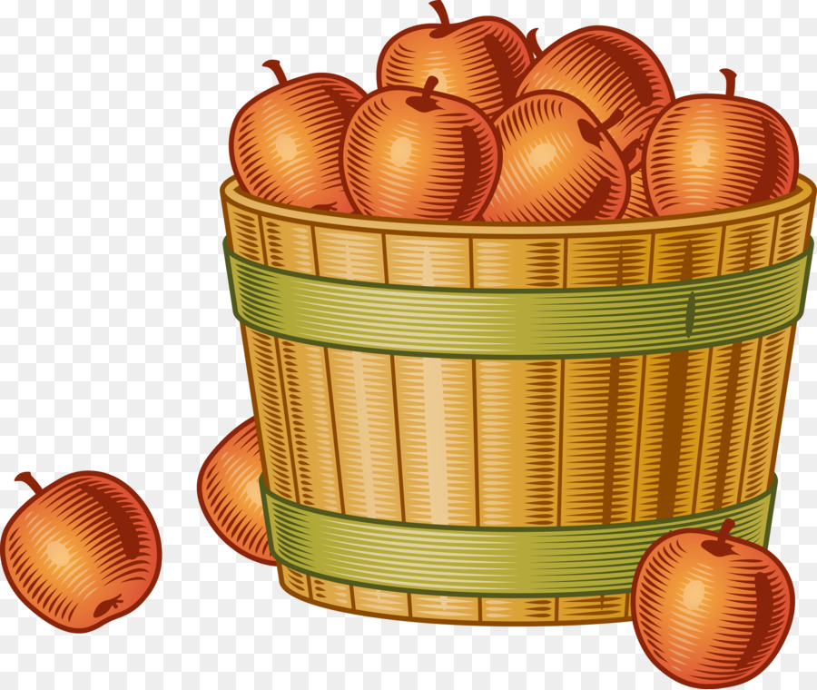 Bushel of apples clipart 7 » Clipart Station.