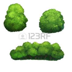 21 Best tree and bushes clip art images.