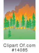 Bushfire Clipart #1.