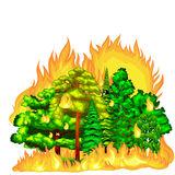 Bushfire Clipart by Megapixl.