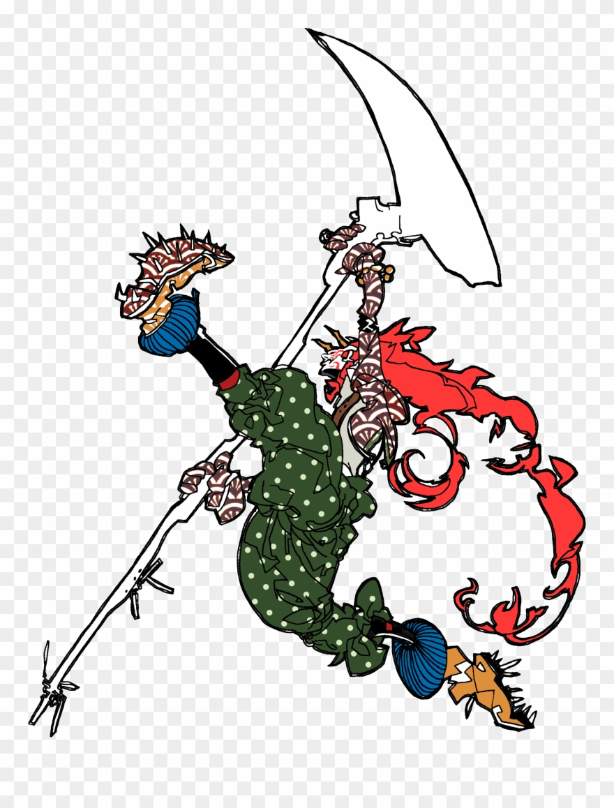 Samurai Vector Bushido Clipart (#4107867).