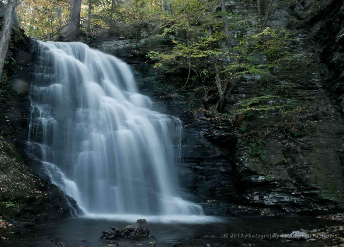 Outdoor enthusiasts can plan a trip to Bushkill Falls in the.